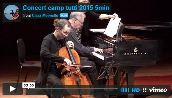 Camp Tutti April 2015 Benefit Concert